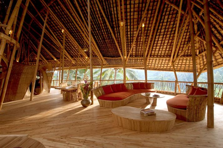 Nature Friendly Bamboo House Design: A Small Gallery